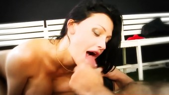 Busty portuguese slut fucked in butthole  HD