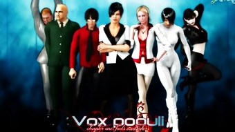 3D Comic: Vox Populi 1-3  HD