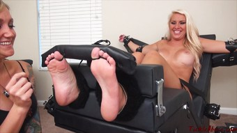TickleAbuse - Cherry Morgan ToeTied