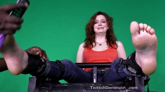 emma tickled feet