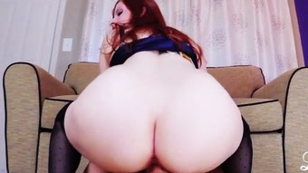MILF REDHEAD Lady Fyre's Favorite Positions  HD