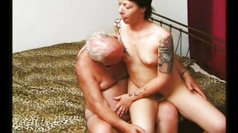 She loves old men- 5,cut 2 (#grandpa #old man #dad)