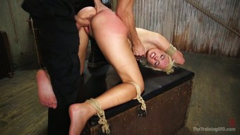 Kinky pervert fucks ex girlfriend Eliza Jane in the basement